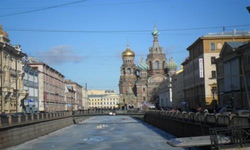 Zdjecie ROSJA / Sankt Petersburg / Sankt Petersburg / Nad Fontanką