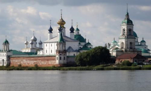 ROSJA / Złoty Pierścień Moskwy / Rostów Wielki / Monastyr Spasso-Jakowlewski