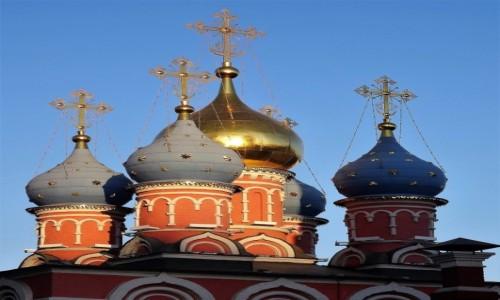 Zdjęcie ROSJA / Moskwa / Cerkiew św. Jerzego / Kopuły i kopułki