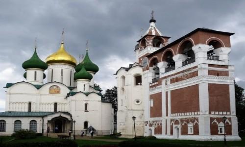 Zdjęcie ROSJA / Złoty Pierścień Moskwy / Spassko-Efimiejskij Monastyr / Stary, cudowny Suzdal