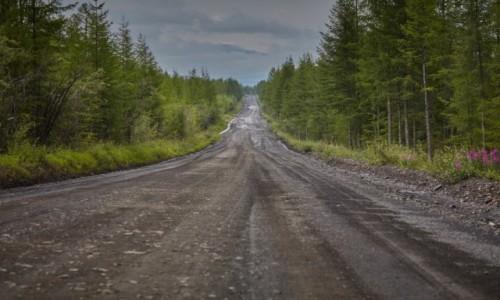 ROSJA / Jakucja / Komymski trakt ( trasa między Jakuckiem a Magadanem) /