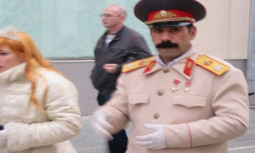 Zdjecie ROSJA / Moskwa - Kreml / Moskwa - Kreml / Stalin na Kremlu. Moskwa