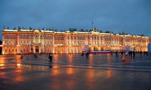 ROSJA / Północno-Zachodni Okręg Federalny / Sankt Petersburg  / Pałac Zimowy w Sankt Petersburgu
