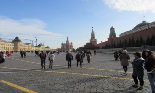 Zdjecie ROSJA / Moskwa / Moskwa / Moskwa