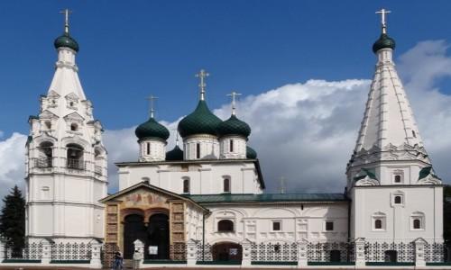 Zdjecie ROSJA / Złoty Pierścień Moskwy / Jarosław / Cerkiew proroka Eliasza