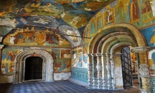 ROSJA / Złoty Pierścień Moskwy / Jarosław / Cerkiew proroka Eliasza - najpiękniejsze wnętrze na Złotym Pierścieniu