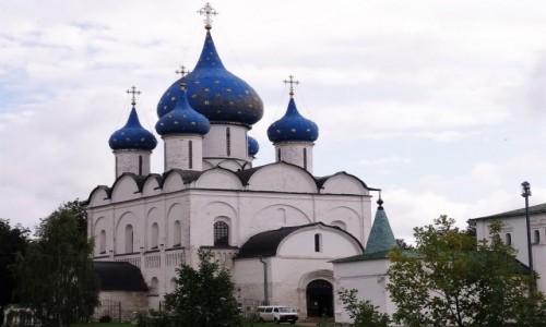 Zdjecie ROSJA / Złoty Pierścień Moskwy / Suzdal / Spacerkiem po Suzdalu - Kreml