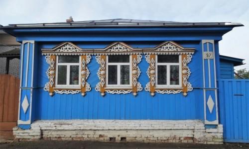 ROSJA / Złoty Pierścień Moskwy /  Główna ulica miasta / Spacerkiem po Suzdalu - żywy skansen