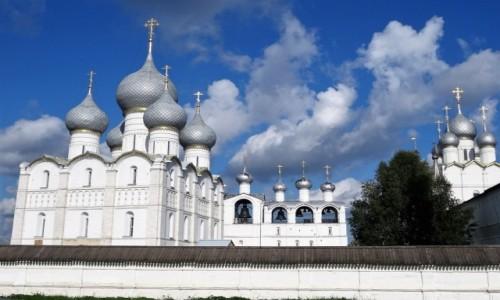Zdjecie ROSJA / Złoty Pierścień Moskwy / Rostów / Zachwycający Kreml w Rostowie
