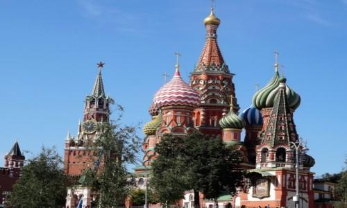 ROSJA / Stolica  / Plac Czerwony / Symbole Moskwy