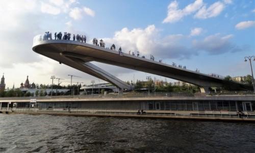 ROSJA / Moskwa / centrum / Park Zaryadye