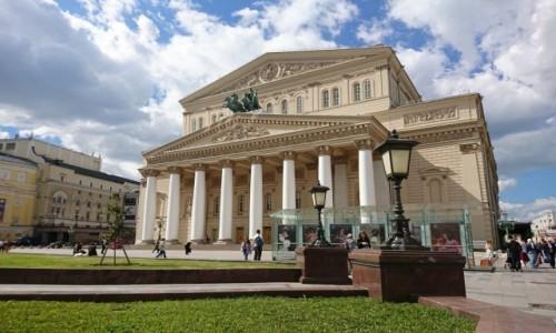 Zdjecie ROSJA / Moskwa / Moskwa / Teatr Wielki w Moskwie
