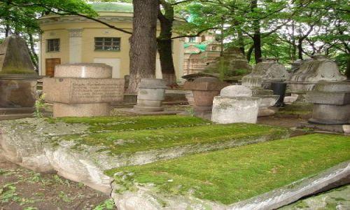 Zdjecie ROSJA / brak / Moskwa / Cmentarz przy Soborze Donskim