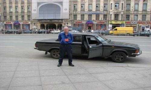 Zdjecie ROSJA / okolice dworca kolejowego / PETERSBURG / wolna taxi:)