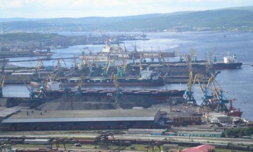 Zdjecie ROSJA / P�noc Rosji / Murma�sk / Port Murma�sk