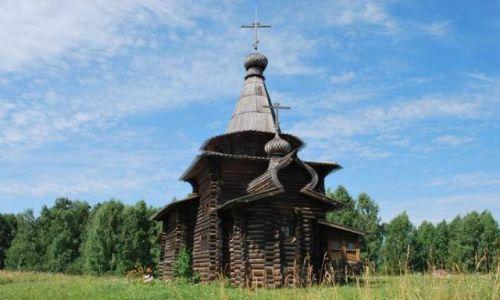 Zdjecie ROSJA / Syberia / Nowosybirsk / Najstarsza drewniana cerkiew