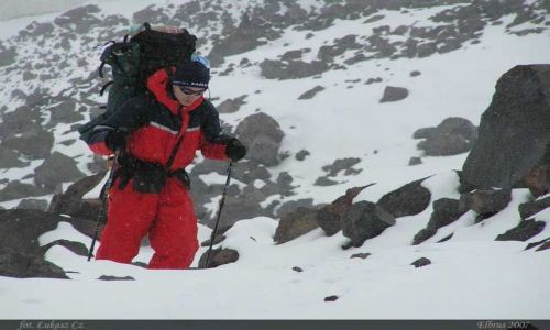 ROSJA / Kaukaz / Elbrus / Początki