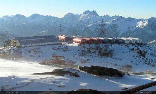 ROSJA / Kaukaz / Elbrus / Beczki 3800m