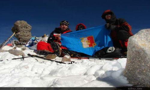 ROSJA / Kaukaz / Elbrus / Na szczycie najwyższej góry Rosji