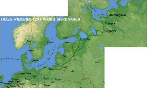 Zdjecie ROSJA / Archangielsk / Archangielsk / trasa wyprawy