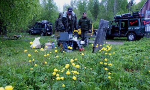 Zdjęcie ROSJA / Archangielsk / rejon Podporoza / w drodze