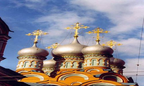 Zdjecie ROSJA / brak / Moskwa / Moskiewskie Cerkwie