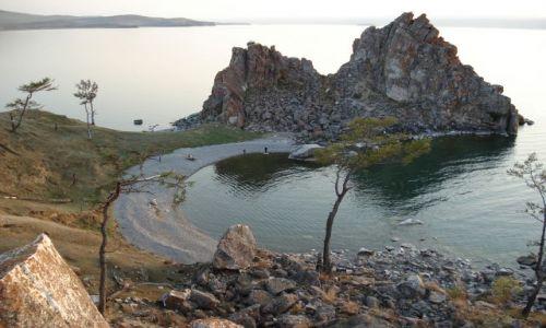Zdjęcie ROSJA / Irkucka Oblast / Olchon, Chużyr / Bajkał - Szamanka