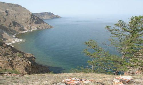 Zdjecie ROSJA / wyspa Olchon, Bajkał / Przylądek Choboj / Bajkał - Olchon, Przylądek Choboj