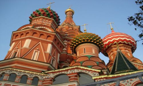 Zdjęcie ROSJA / Moskwa / Moskwa / Jedne z najpiękniejszych kopuł na świecie ?