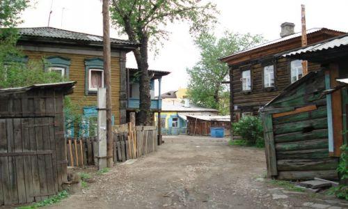 Zdjęcie ROSJA / Irkucka Oblast / Irkuck / Stary Irkuck - podwórka