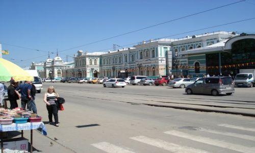 Zdjecie ROSJA / Irkucka Oblast / Irkuck / Dworzec w Irkucku