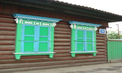 Zdjecie ROSJA / Irkucka Oblast / Irkuck / Okiennice