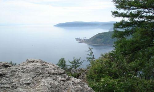 Zdjecie ROSJA / Irkucka Oblast / Listwianka / Port Bajkał z Kamienia Czerskiego