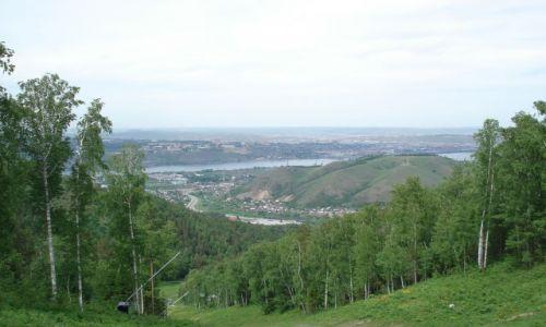 Zdjęcie ROSJA / Krasnojarsk, Syberia / Bobrowy Log / Panorama Krasnojarska