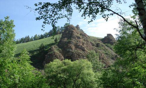 Zdjecie ROSJA / Krasnojarsk, Syberia / rezerwat Krasnojarskie Stołby / Krasnojarskie Stołby - skały