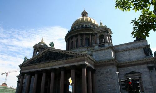 ROSJA / - / Sankt Petersburg. / Sobór św. Izaaka Dalmatyńskiego.