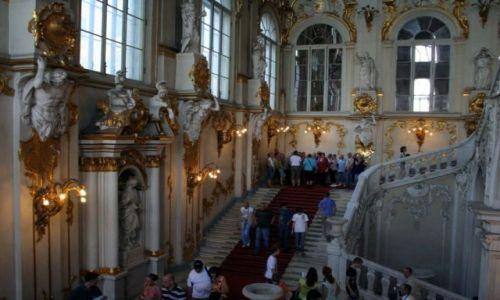 Zdjęcie ROSJA / - / SANKT PETERSBURG. / Pałac Zimowy. ERMITAŻ.