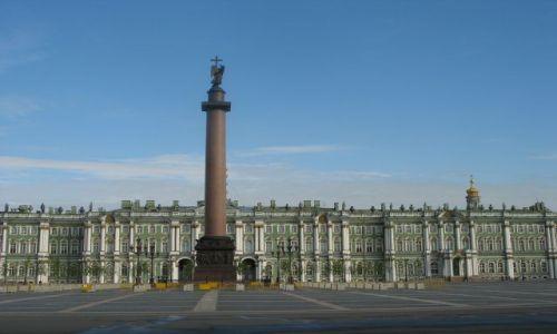 Zdjęcie ROSJA / Sankt Petersburg / Sankt Petersburg / PAłac Zimowy