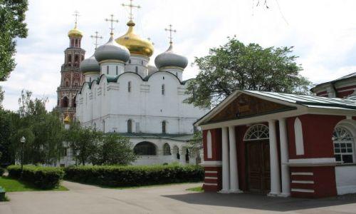 ROSJA / Moskwa / klasztor Nowodiewiczy (UNESCO) / Nowodiewiczy Monastyr