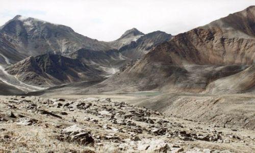 Zdjecie ROSJA / - / Tunkijskie Golce / Dolina rzeki Eche-Ger