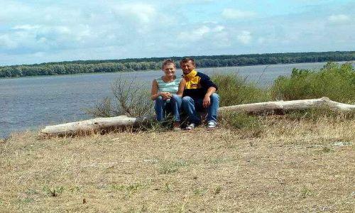 ROSJA / brak / okolice Astrachania / Poranek nad Wolga