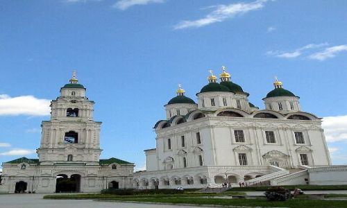 Zdjecie ROSJA / brak / Astrachan / Kompleks cerkiewny