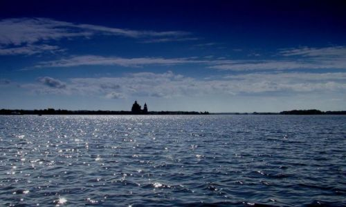 Zdjecie ROSJA / Karelia / Jezioro Onega / Rosja  J.Onega - Kiżi