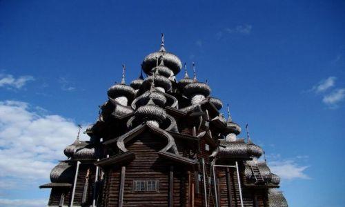 Zdjecie ROSJA / Karelia / Wyspa Ki�i / Rosja - na wysp