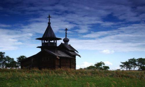 Zdjecie ROSJA / Karelia / Wyspa Kiżi / Dawna Rosja - d