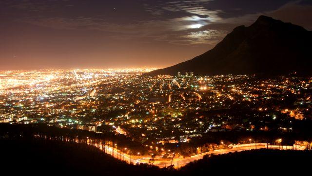 """Zdjęcia: Town, Cape, """"Konkurs"""" Cape Town By Night, RPA"""
