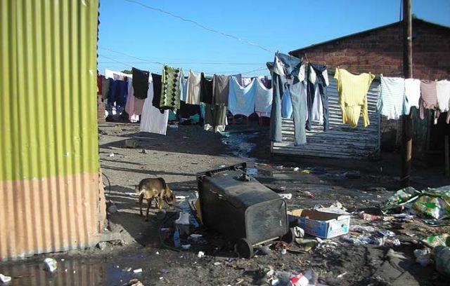Zdj�cia: slamsy okolice kapsztadu, Kapsztad, ..., RPA