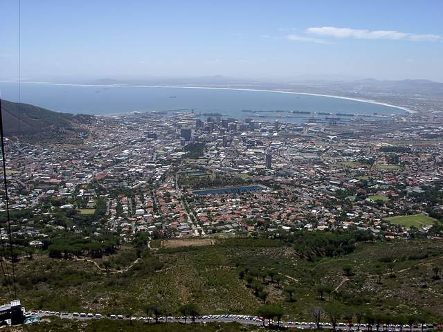 Zdjęcia: Cape Town, Panorama Cape Town, RPA