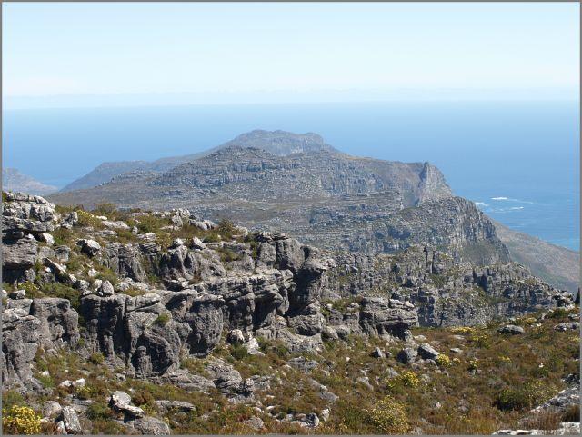 Zdjęcia: na szczycie, Kapsztad, na górze stołowej, RPA