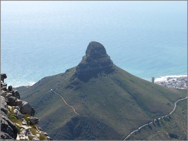 Zdjęcia: na szczycie, Kapsztad, górka obok - lion's head, RPA